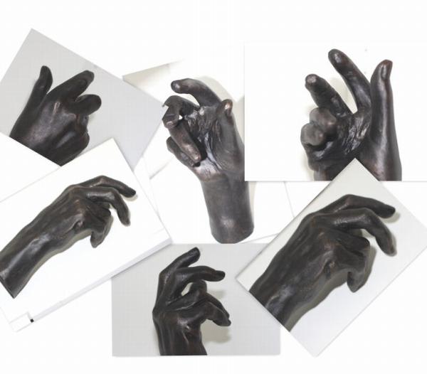 Auguste Rodin - Hand van Auguste.