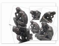De Denker van Auguste Rodin. 40cm.