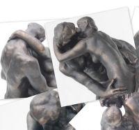 Auguste Rodin - De Kus. 17 cm.