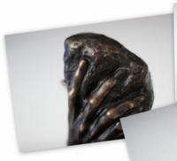 Auguste Rodin - Hand van God.